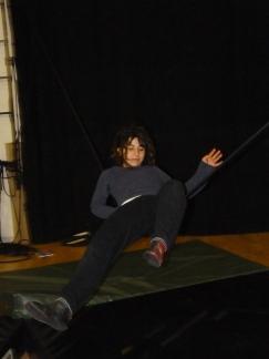 stage di corda molle, Albert Martinez, La Fucina del Circo, Torino, equilibrio su filo, workshop (8)