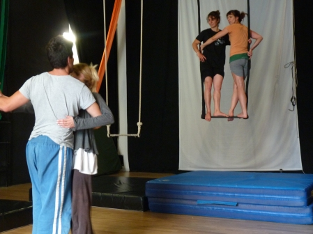 equilibrio trapezio, workshop, stage, la fucina del circo, torino, arti aeree, discipline aeree, tecnica al trapezio (13)_