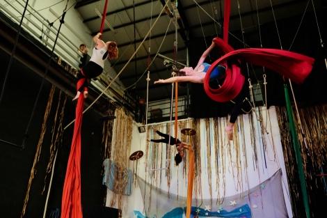 acqua primordiale, fusion fest, la fucina del circo, tessuto, trapezio,corsi, torino (6) foto Fabio Gomena