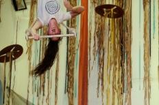 acqua primordiale, fusion fest, la fucina del circo, tessuto, trapezio,corsi, torino (7) foto Fabio Gomena