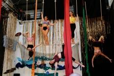 bellezze al bagno, fusion fest, la fucina del circo, tessuto, trapezio,corsi, torino (21) foto Fabio Gomena