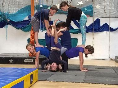 Circo ludico, bimbi, la fucina del circo, fusion fest, festa di fine anno, torino, corsi, aerea junior, acrobatica, (1)