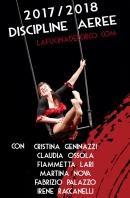 Corso discipline aeree, acrobatica, cristina geninazzi, fiammetta lari, claudia ossola, la fucina del circo, tessuto aereo, trapezio, cerchio, corda, torino.