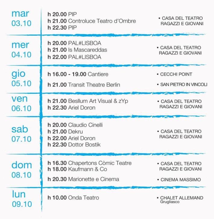 Festival Incanti_2017_convenzione con La Fucina del Circo, Casa del Teatro Ragazzi e Giovani, torino