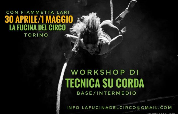 workshop, corda aerea, circo, stage, la fucina del circo, torino, fiammetta lari,tecniche aeree, acrobatica, scuola, corsi,-01