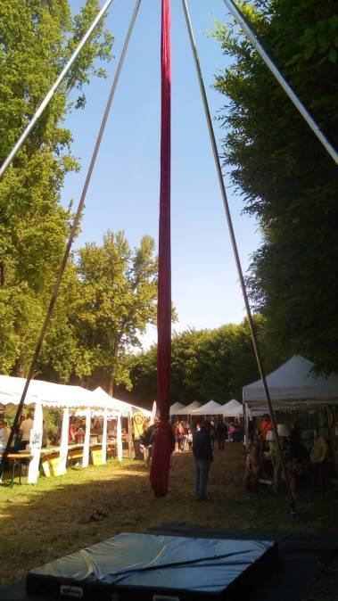 laboratori e workshop acrobatica aerea, adulti e bambini